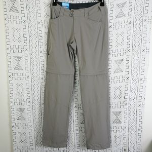 Grey Columbia Omnishield Active Convertible Pants